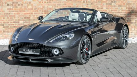 A la venta un Aston Martin Vanquish Zagato Volante: una pieza codiciada