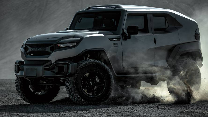 Rezvani Tank X Tackles Mountains With 707-HP Hellcat V8