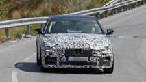 Jaguar XE Facelift Spy Photos