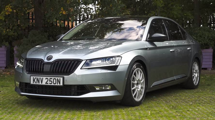 Skoda Superb sleeper