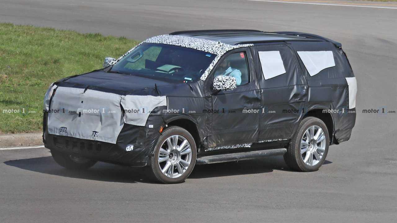 Next-Gen Chevrolet Tahoe Spy Shots