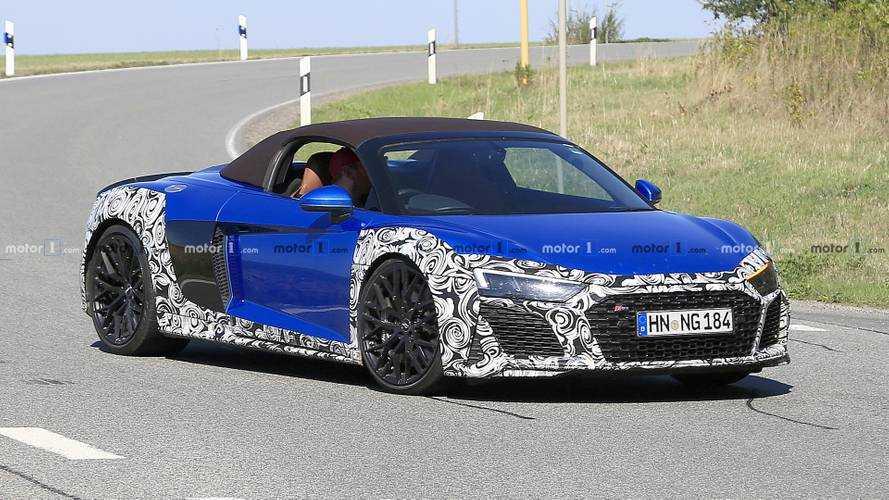 Audi'nin yeni teaser'ları, yarışçı bir R8'i işaret ediyor
