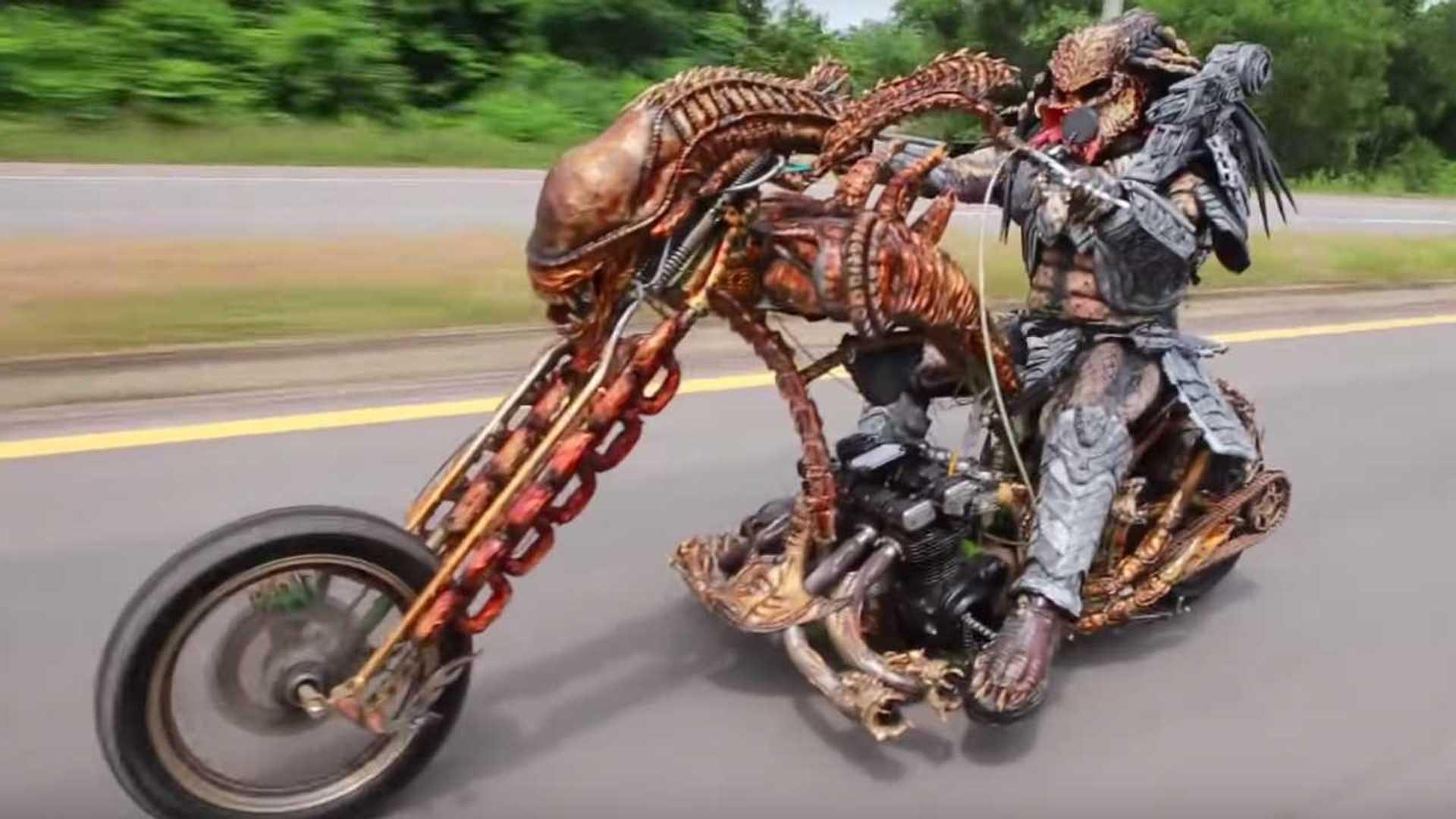 6 Motor Berkostum Super Menyeramkan Khusus Dibuat Untuk Perayaan Halloween
