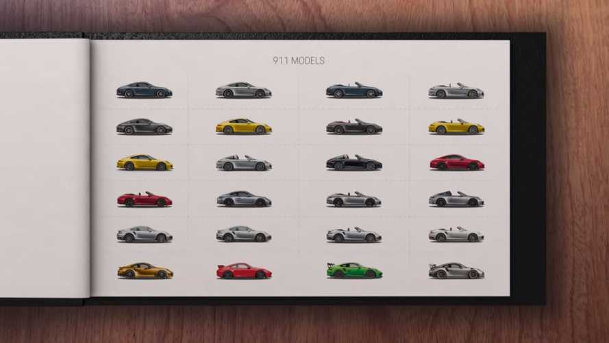 Porsche explains all 24 different 911 models in 5-minute video