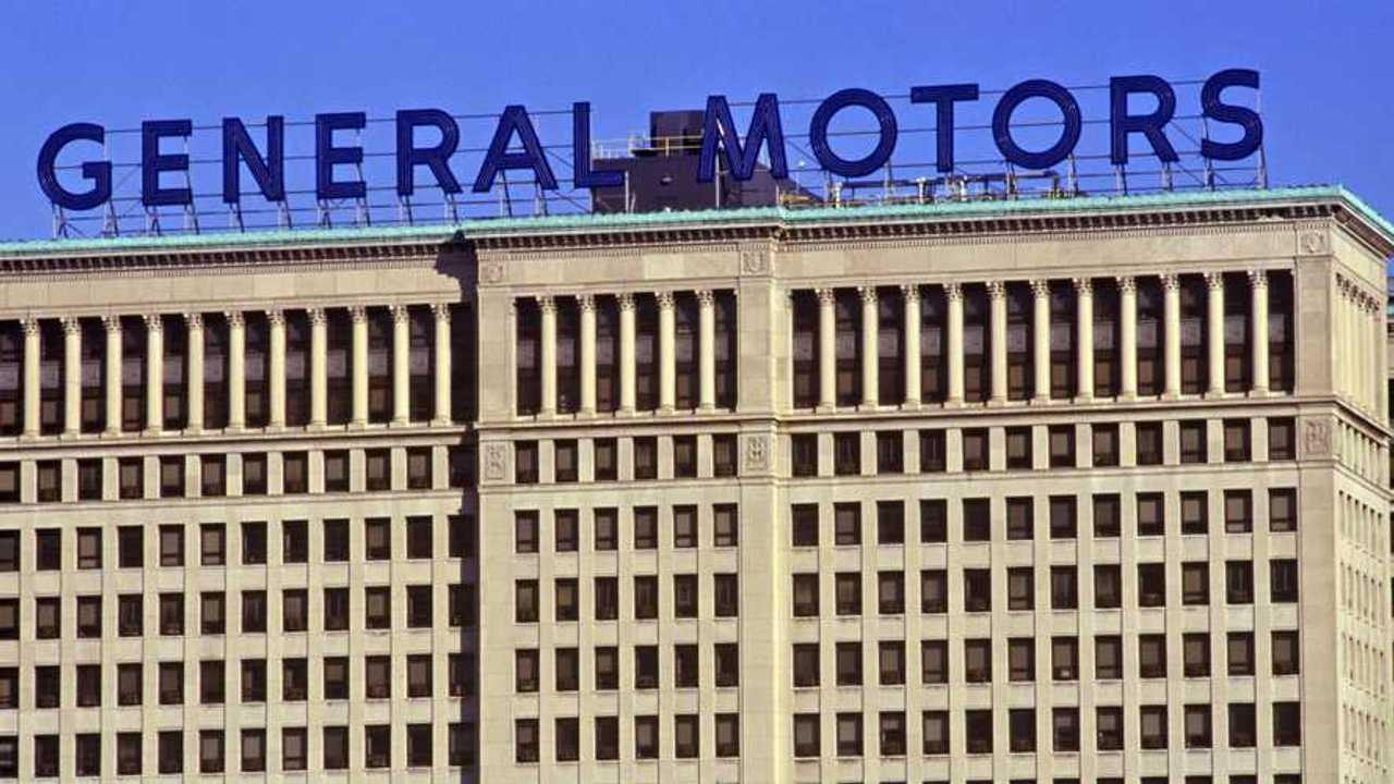 General Motors headquarters downtown Detroit