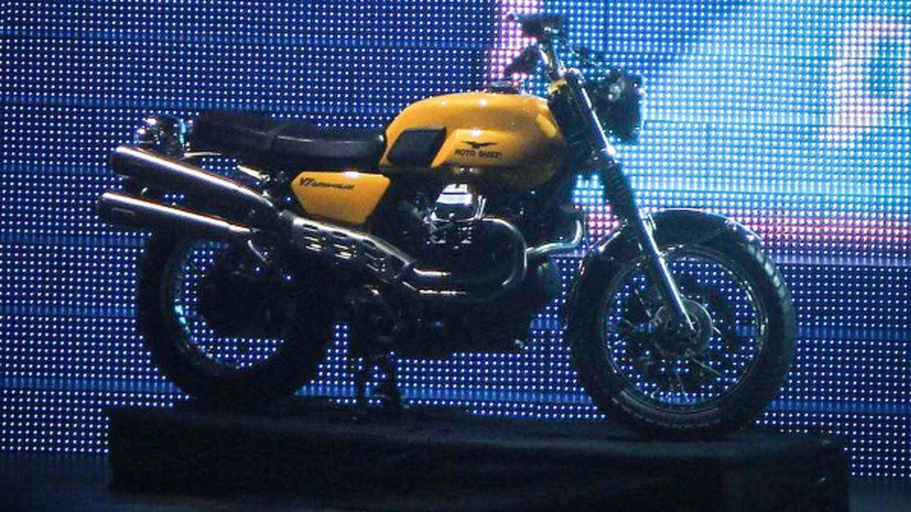 Spy Photos: Moto Guzzi V7 Scrambler and California