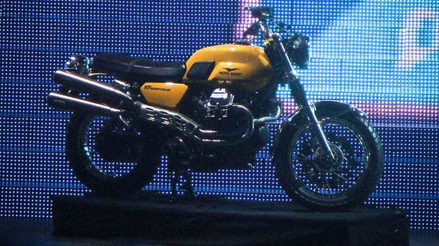 Spy Photos: Moto Guzzi V7 Scrambler and California