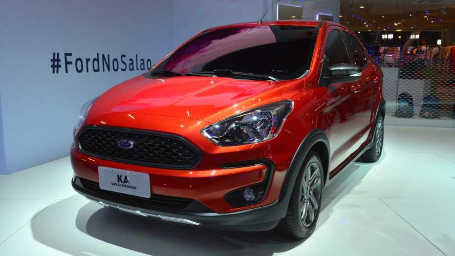 Ford Ka Urban Warrior at the São Paulo International Motor Show