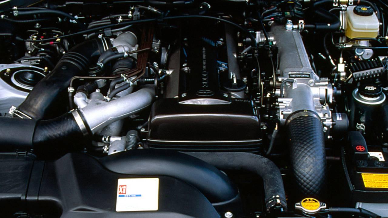 Toyota Supra 4. Jenerasyon Motoru