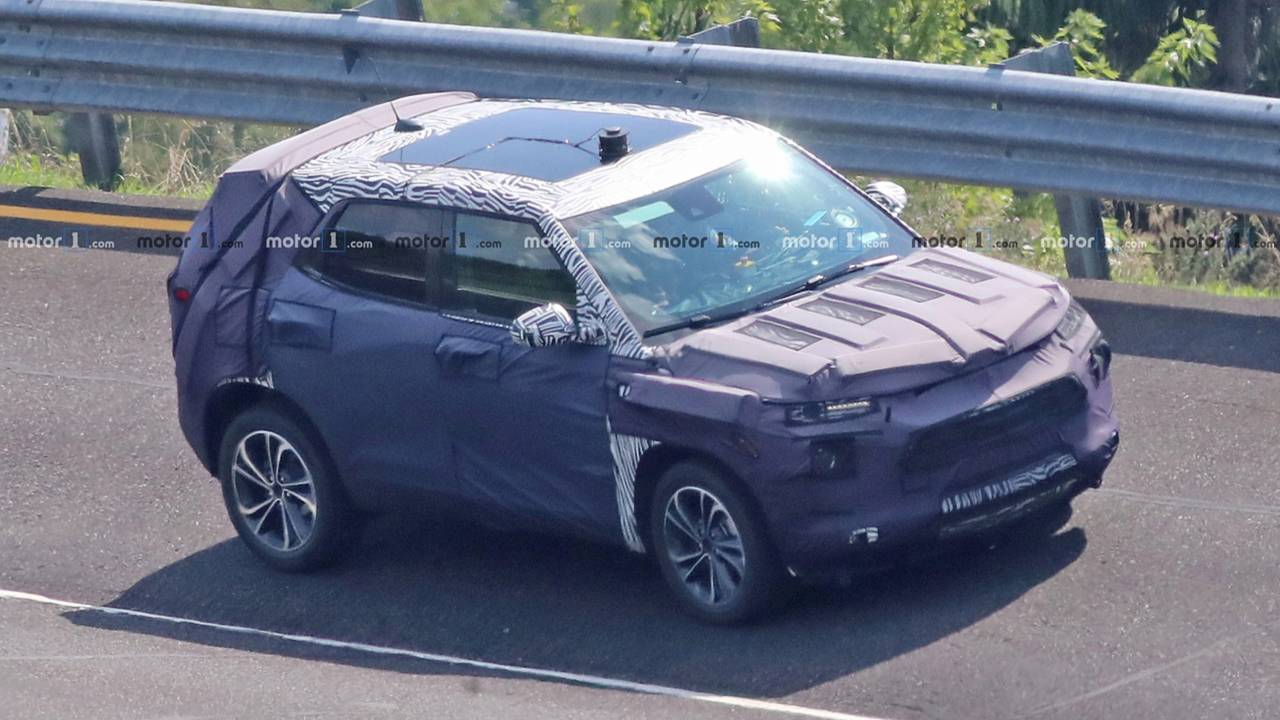 Redesigned 2020 Chevrolet Trax SUV Spied For The First Time