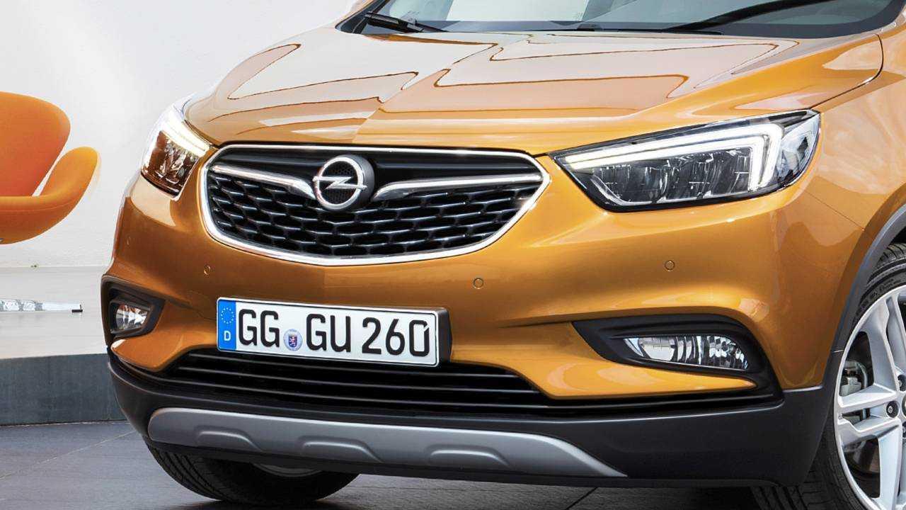 Opel Mokka X 2016 Grill