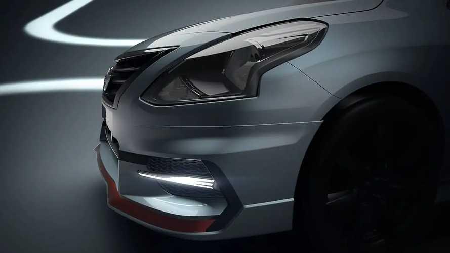 Nissan mostrará Versa esportivo no Salão do Automóvel