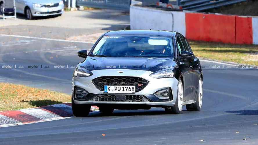 Ford Focus ST 2020 - Flagra do interior