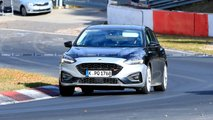Ford Focus ST Interior Spy Photos