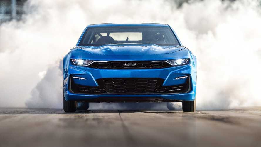 Watch Chevy eCopo Camaro Electric Achieve 9-Second Drag Run
