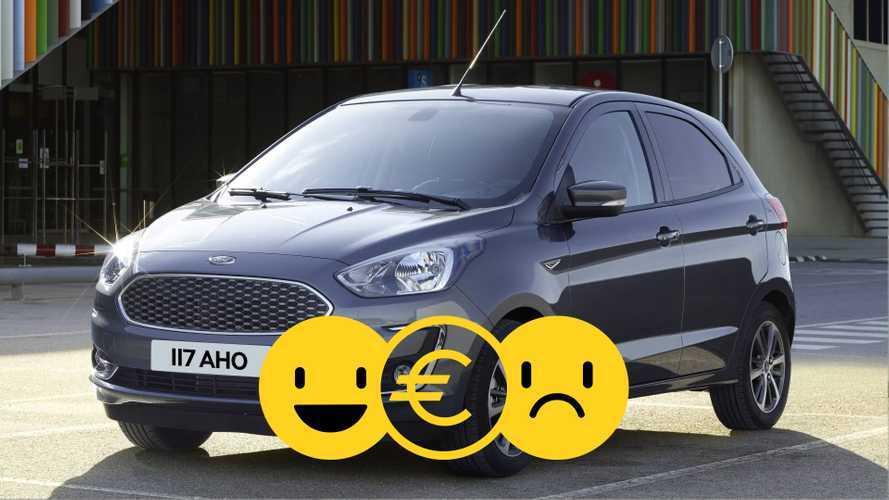 Promozione Ford Ka+, perché conviene e perché no
