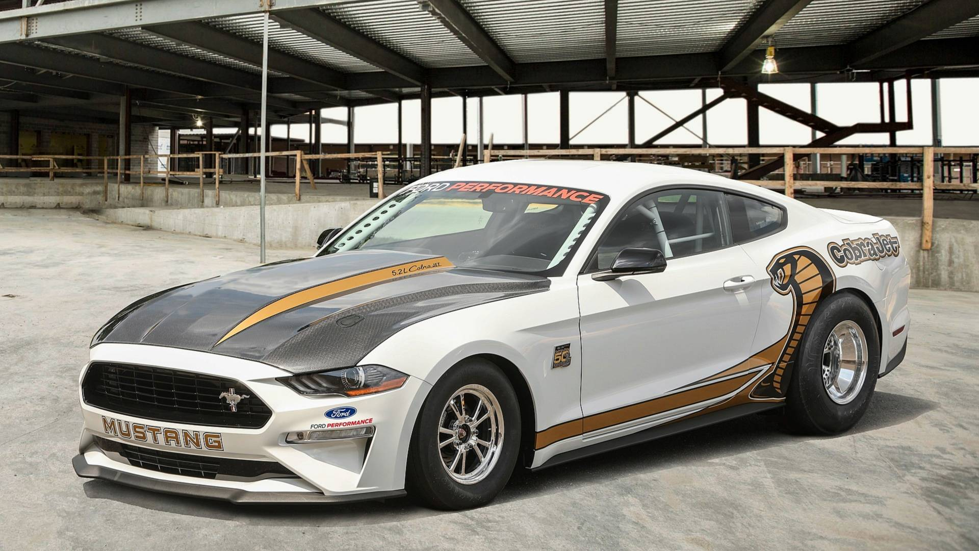 Ford mustang cobra jet is an 8 second quarter mile demon killer