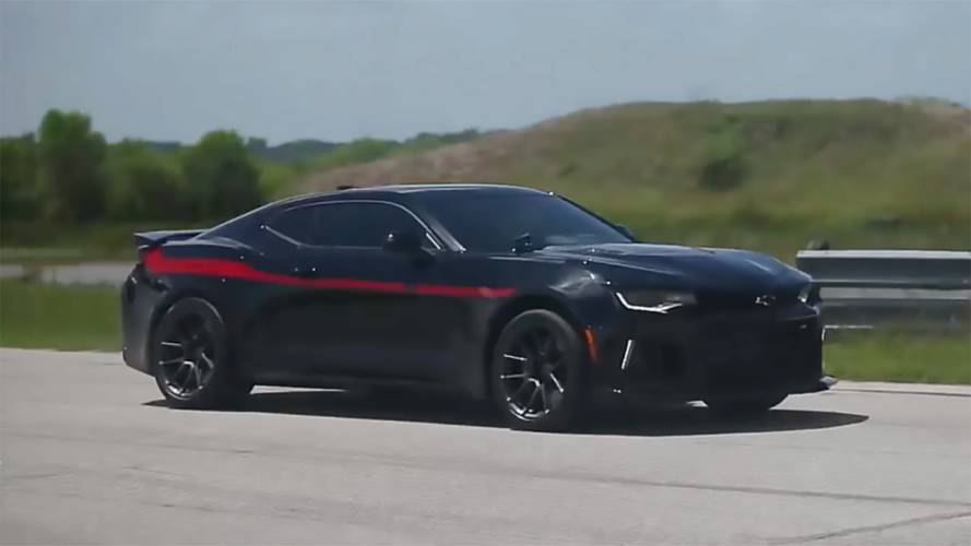 Watch Hennessey Exorcise Its 1000-HP Exorcist Camaro ZL1