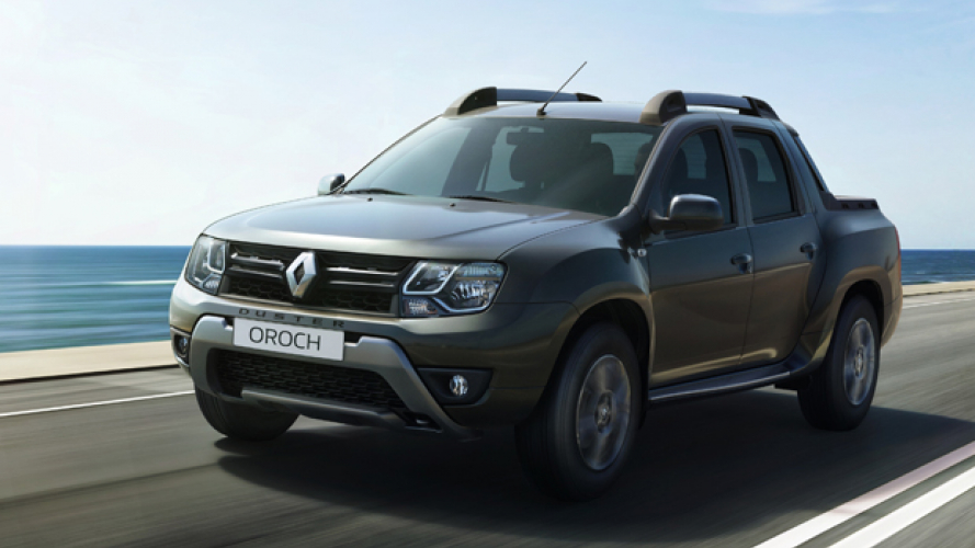 Renault Duster Oroch, il primo