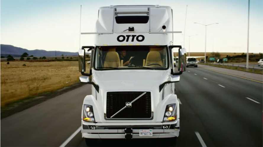 Otto e Volvo, birra a guida autonoma