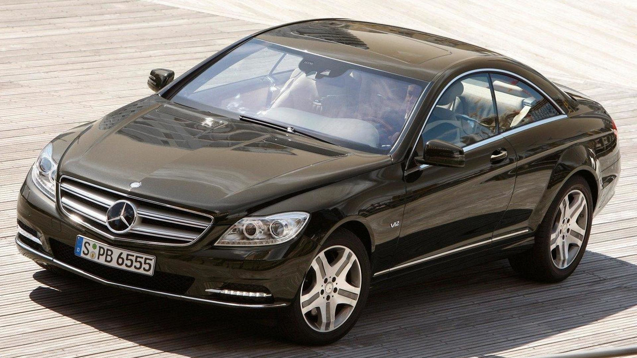 Mercedes Cl Convertible Under Consideration Report Benz S 2011 Facelift First Photos 1600 02072010
