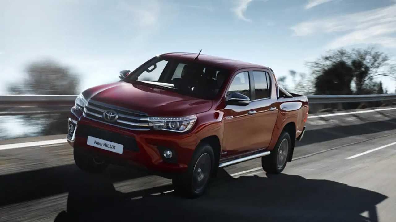 Toyota Hilux, prova su strada