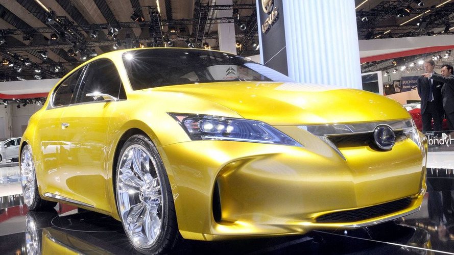 Lexus LF-Ch Shows the Gold in Frankfurt