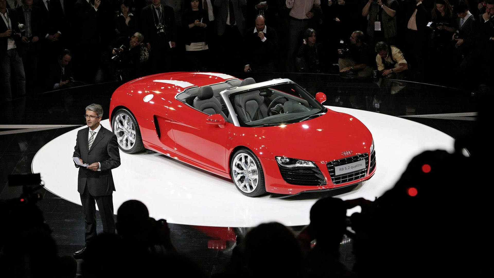 New Iron Man 2 Audi R8 Spyder Commercial Video Interactive Trailer