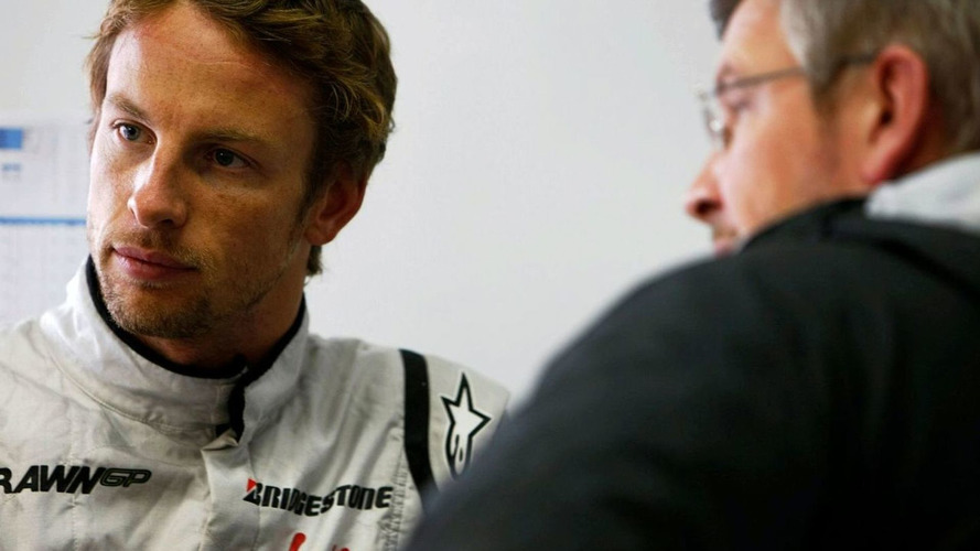 Button sued Brawn to receive 2009 F1 car prize