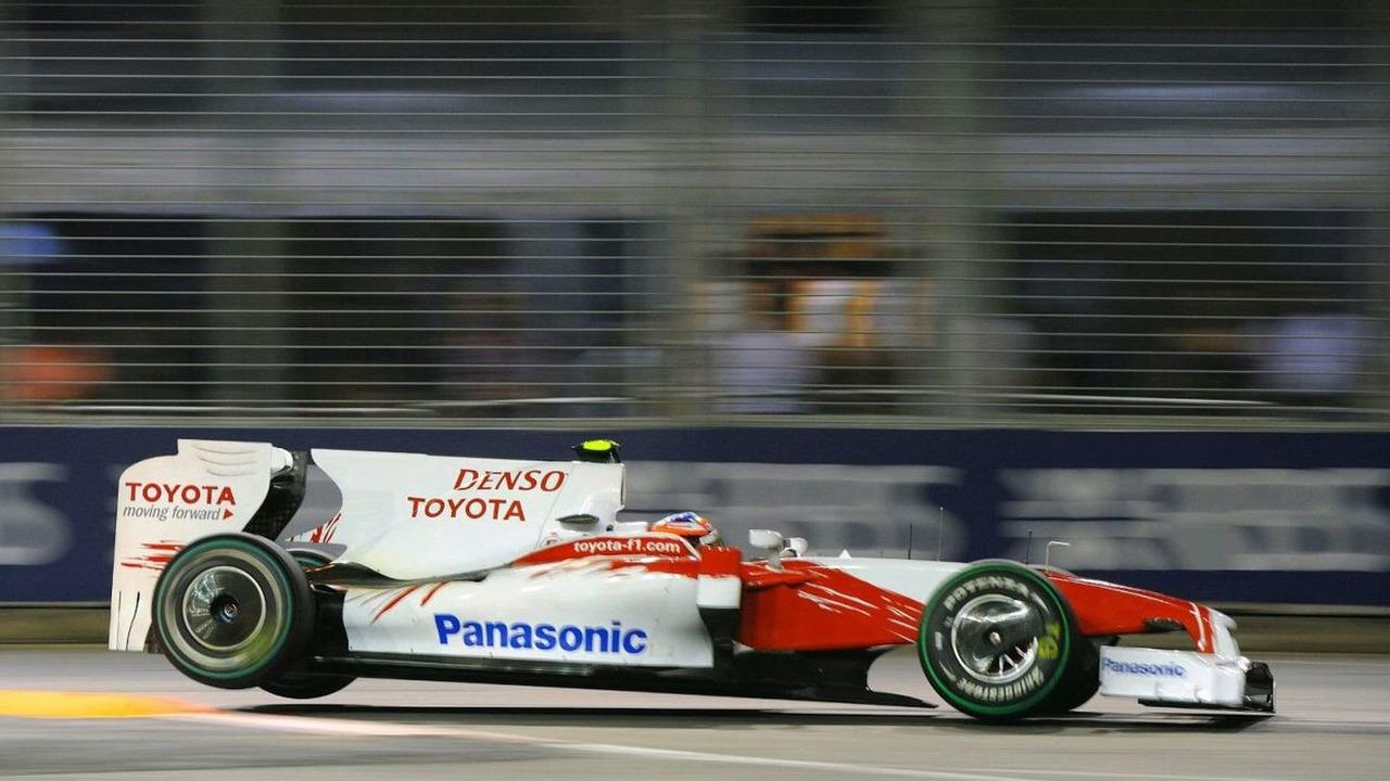 Timo Glock (GER), Toyota F1 Team, Singapore Grand Prix, 27.09.2009