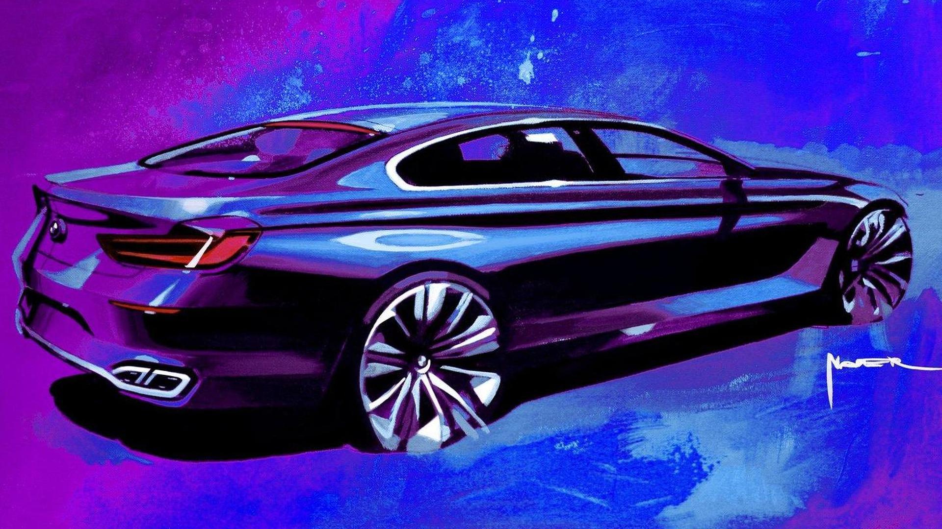 Bmw M8 Gran Coupe Concept Debuting Next Month In Geneva