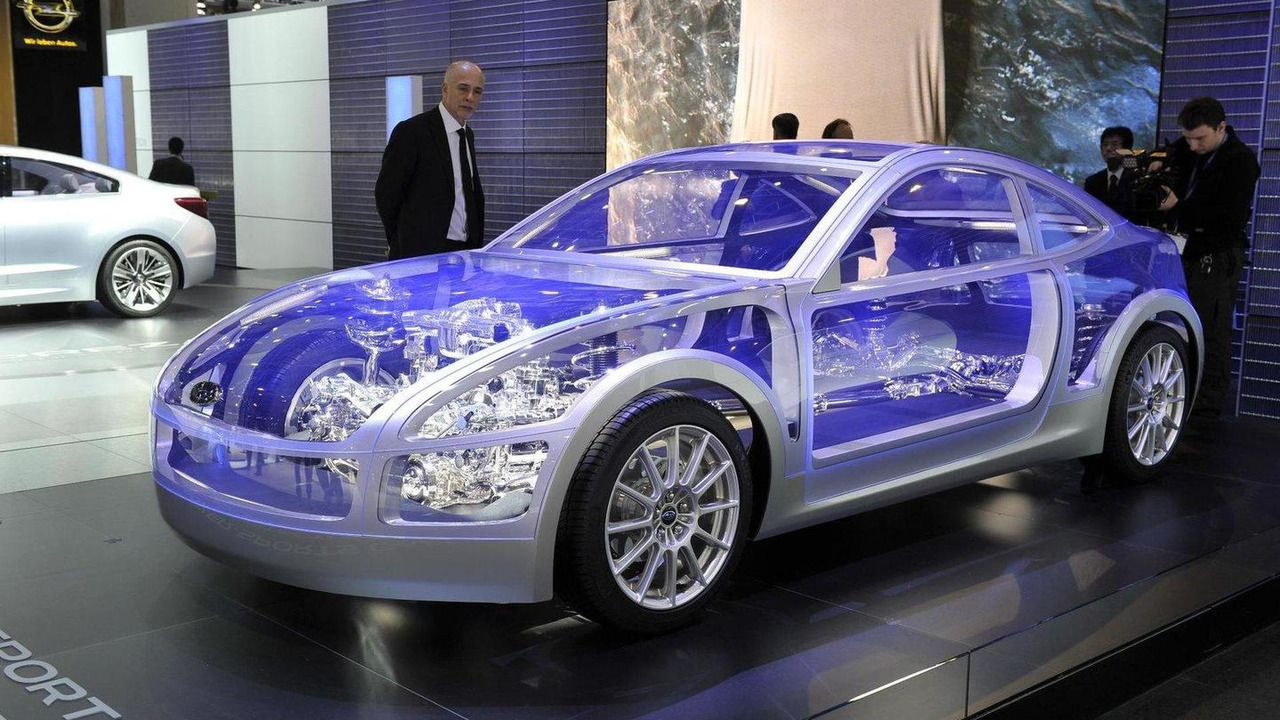 Subaru BOXER Sports Car Architecture live in Geneva - 01.03.2011