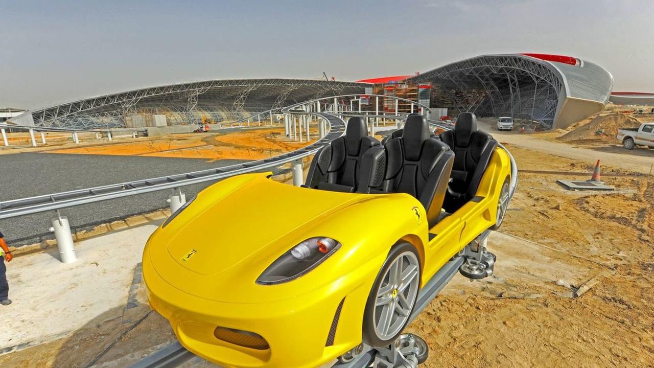 Ferrari World Abu Dhabi GT roller coaster - 1500 - 15.03.2010