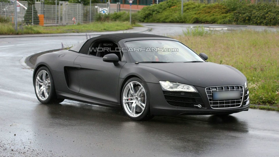 Audi R8 V10 5.2 FSI Spider Returns to Nurburgring