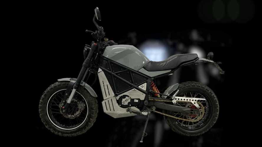 Ukranian Startup Unveils Rugged  ScrAmper Electric Motorcycle