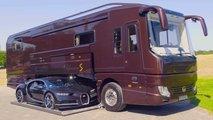 bugatti chiron motorhome camping car
