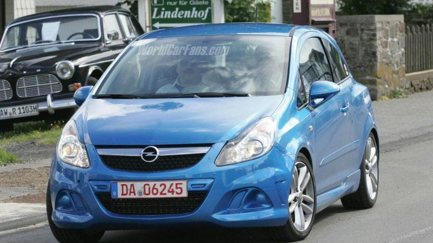 SPY PHOTOS: Opel Corsa OPC