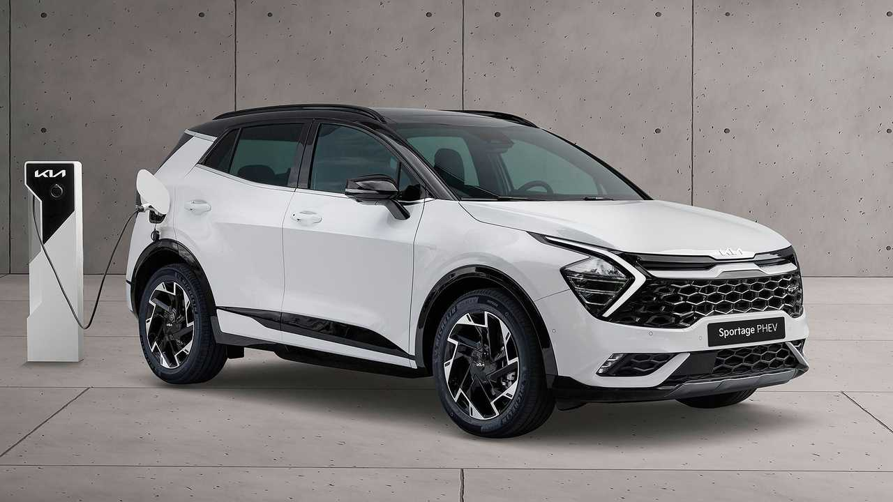2022 Kia Sportage Plug-in Hybrid (Euro-spec)