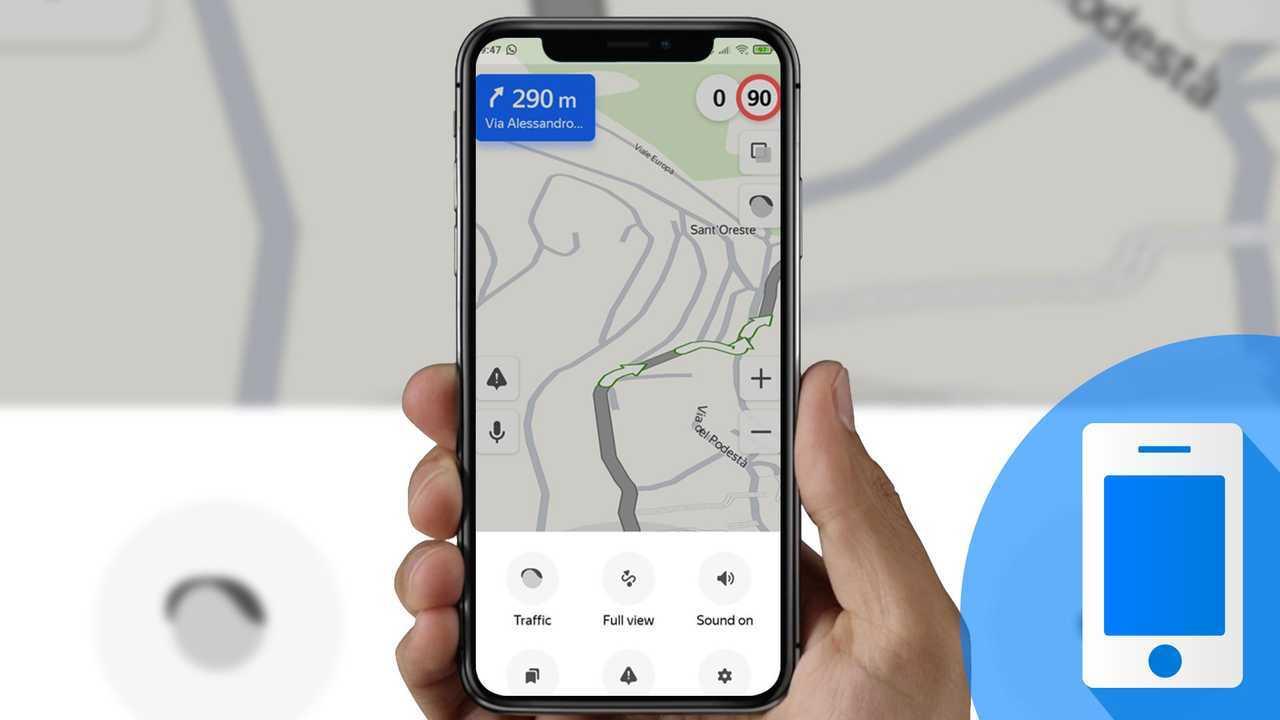 app di navigazione Yandex.Maps