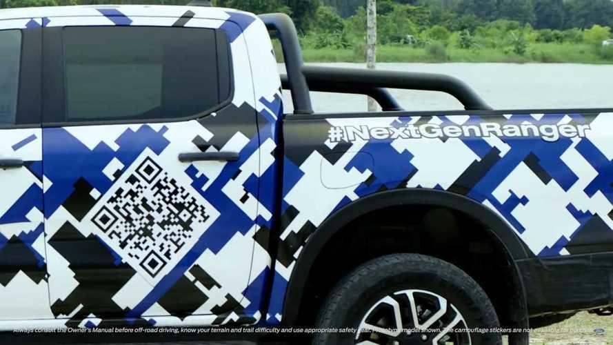 Ford Ranger (2022) Teaserbilder