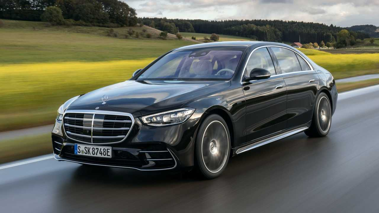 2021 Mercedes-Benz S 580 e In European Specification 3