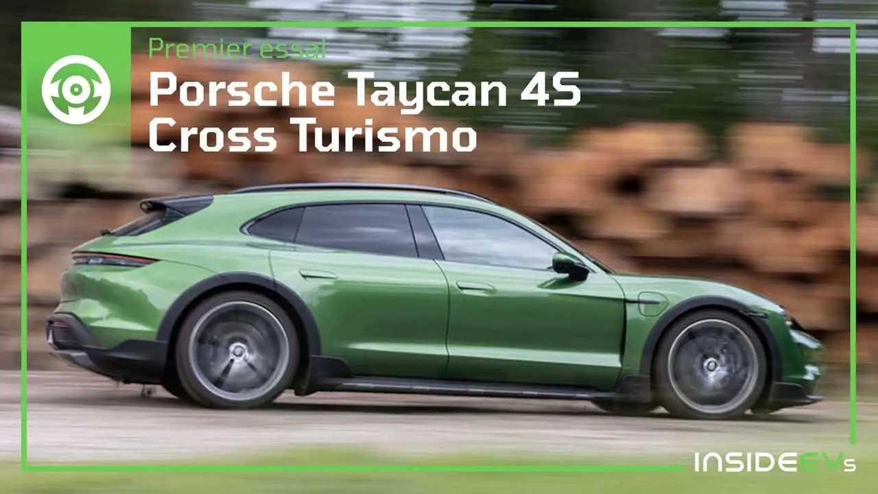 Essai Porsche Taycan 4S Cross Turismo