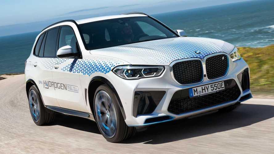 BMW iX5 Hydrogen Akan Pamerkan Teknologi Fuel Cell di Munich