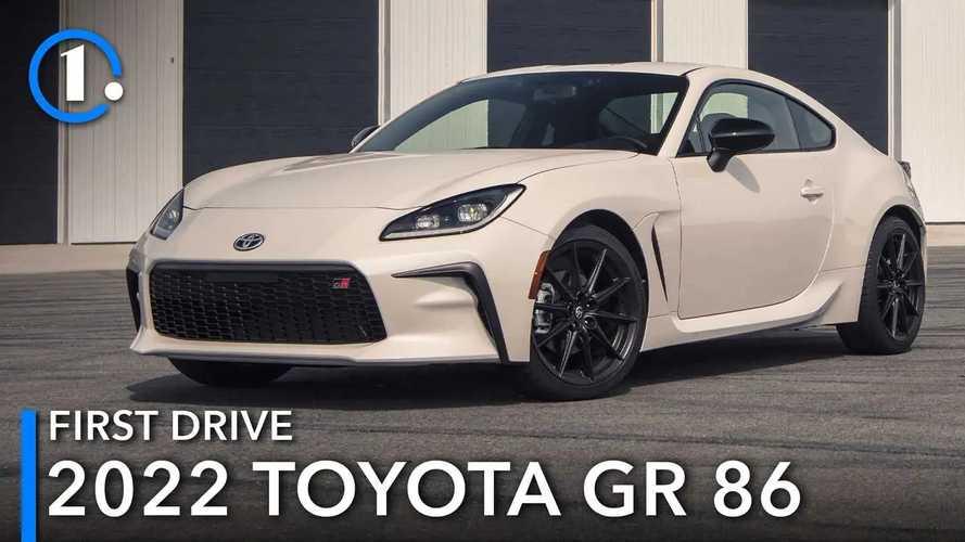 2022 Toyota GR 86 First Drive: Poise Meet Power