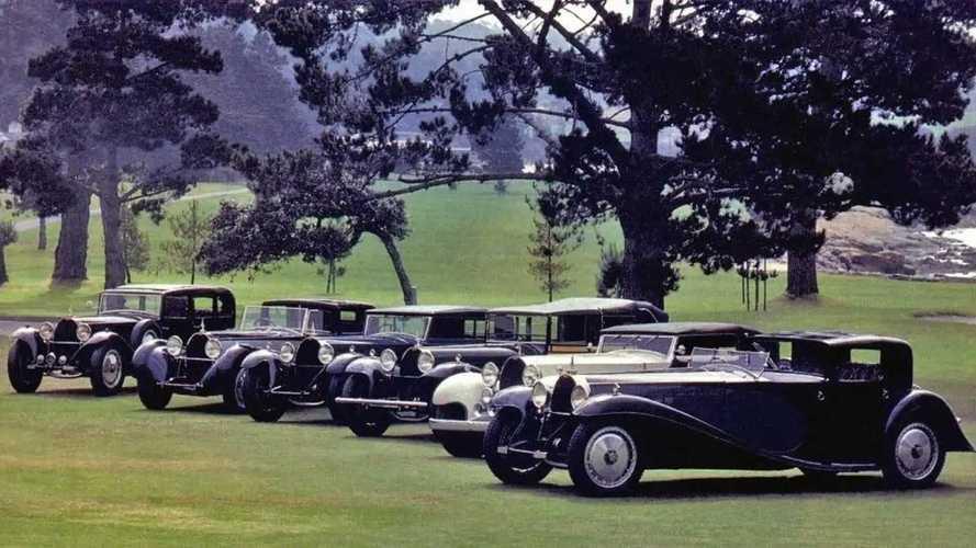 La absurda historia de seis Bugatti Type 41 en Pebble Beach 1985