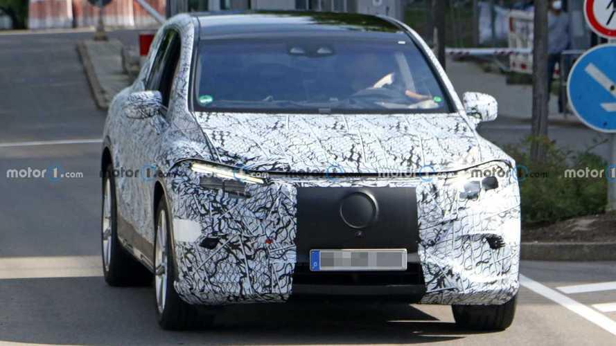 New Mercedes-Benz EQS SUV Spy Photos