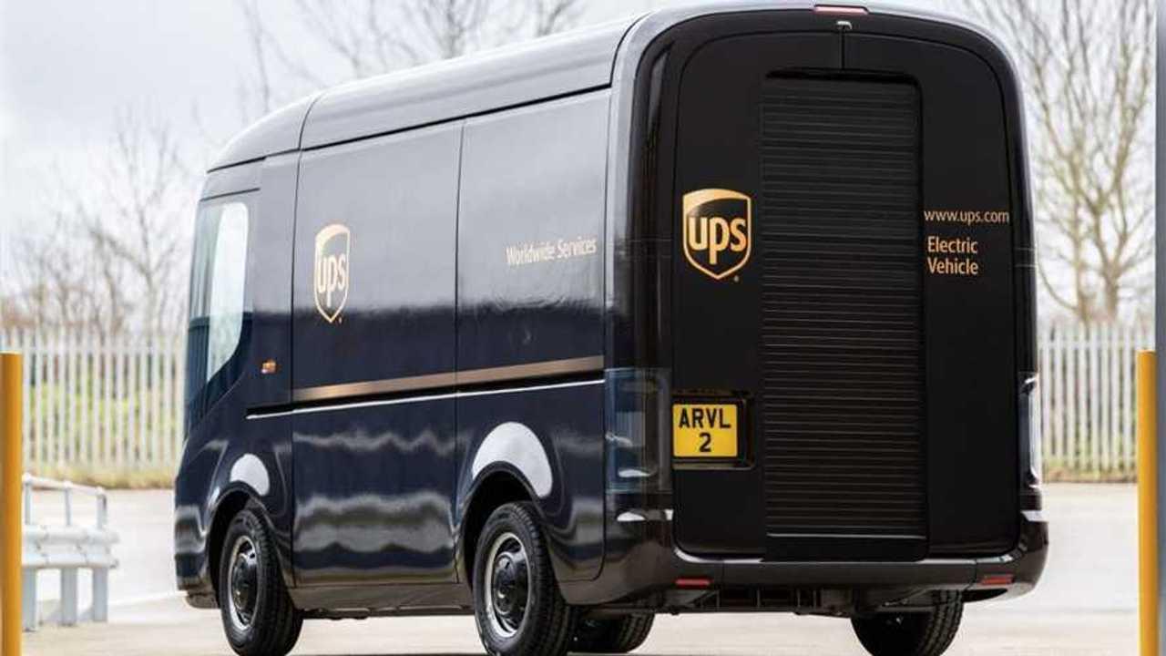 UPS e Arrival, van elettrici in arrivo