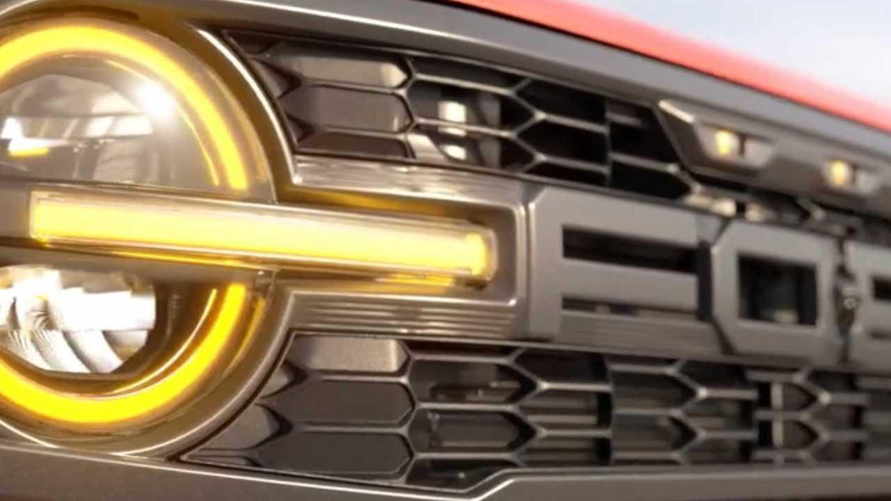 Ford Bronco Raptor ızgara.
