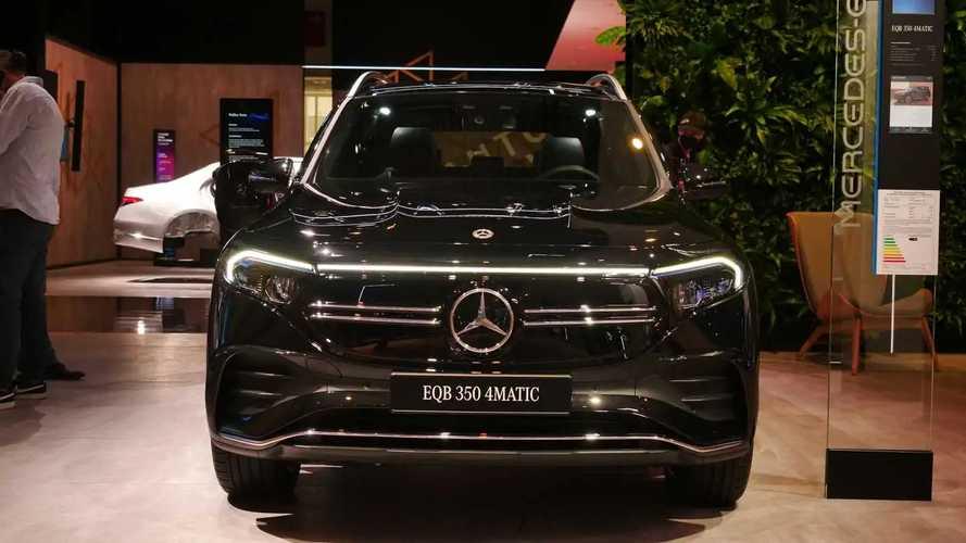 Tutte le foto della Mercedes EQB a Monaco