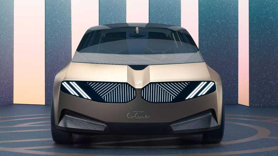 BMW i Vision Circular: городской автомобиль будущего из мусора